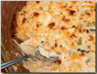 Walleye Cheese Dip